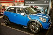 Mini Countryman at 2014 New England auto show.