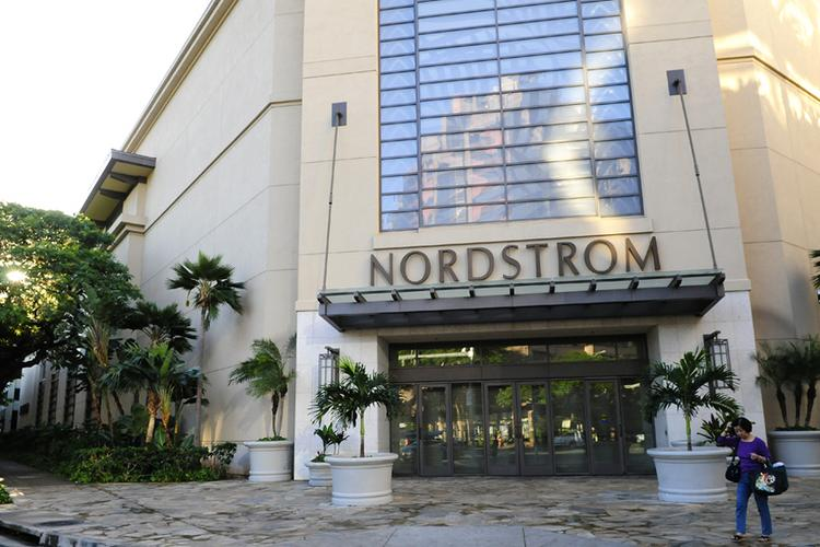 A Nordstrom spokeswoman says the company is considering moving the Nordstrom department store at Ala Moana Center, seen here, to another location within Hawaii's largest shopping mall.