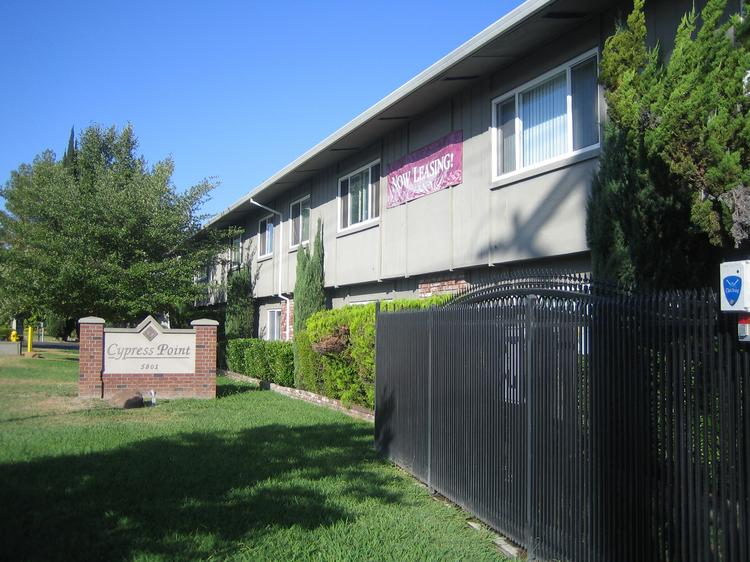 Cypress Point Apartments, at 5801 Winding Way, sold for $4.06 million near the end of 2013 to Stockton-based The Grupe Co. The apartments, built in 1971, were renovated in 2003.