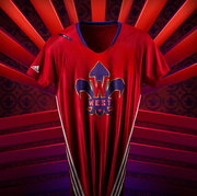 The jerseys were inspired by the host city's Mardi Gras culture and include vibrant colors and other symbols of New Orleans' cultural history.