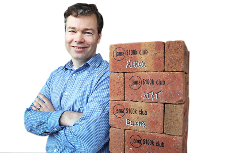 Jama Software CEO Eric Winquist plans move to bigger office space.