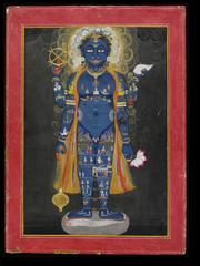 A painting that will be on display at the upcoming exhibition on the history of Yoga.