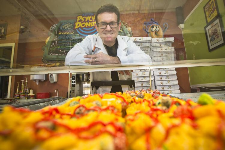 Like doughnuts? Good. They're getting much more creative. Case in point: Jordan Zweigoron's Psycho Donuts is launching gluten-free options.