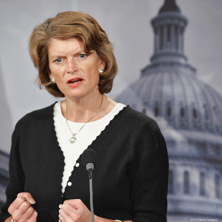 U.S. Sen. Lisa Murkowski, the top Republican on the Senate energy committee, supports lifting the export ban on domestically produced oil.