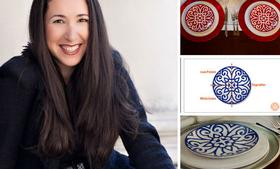 Tatyana Daniels Beldock, a venture capitalist, started the tableware company Slim & Sage after realizing that the average American plate size has grown from 9 inches a few decades ago to as much as 12 inches today. Each plate's pattern divides it into quadrants. Half should contain vegetables, while lean protein and whole grains get a quarter each.