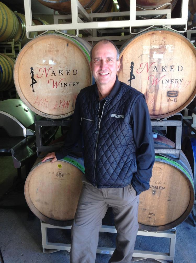"David Barringer, co-owner of Hood River's Naked Winery, got a call out from Silicon Valley Bank for the winery's leadership in e-commerce. ""You have to feed the horse,"" Barringer says."