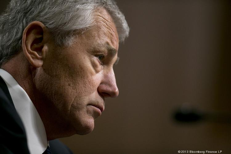 Chuck Hagel, U.S. secretary of defense, delivered the news that furloughs, which have forced a 20 percent pay cut on most of the military's civilian workforce, probably will continue next year, and it might get worse.