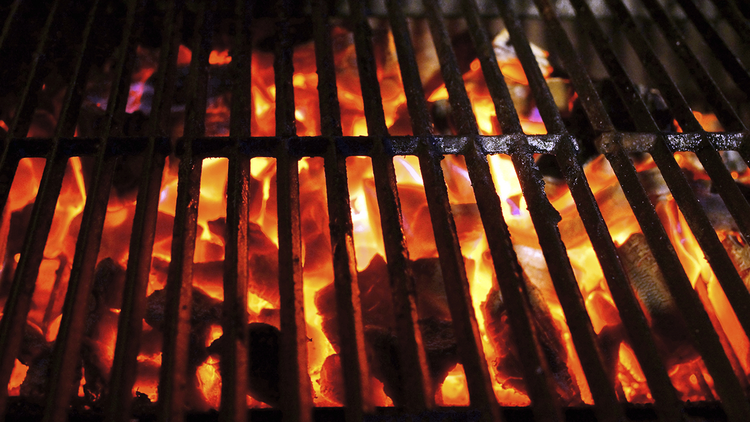 Fahrenheit 250 BBQ's name comes from the temperature at which its signature items, such as brisket, are cooked.