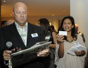 PBN Publisher Bob Charlet and Director of Events Rosanna Costales