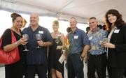 From left, Bernadette Shafer Robins, Shafer's Roofing, Aaron Kekoolani, Aloha Data, Sherri Kamaka, Pacific Business News, Mike Kockler, MyChangeNow, John Sanders, ICON Employer Services of Hawaii and Theresa Schenk of Schenk's Specialized Services