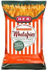 H-E-B, Whataburger to debut new flavor of Whatafries in January
