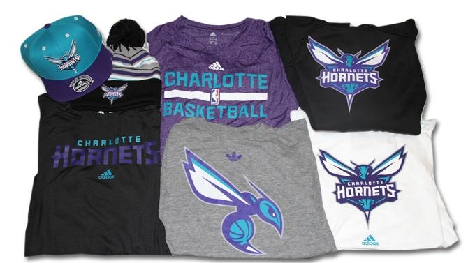 These are a few of the Charlotte Hornets souvenirs going on sale this weekend at Time Warner Cable Arena.