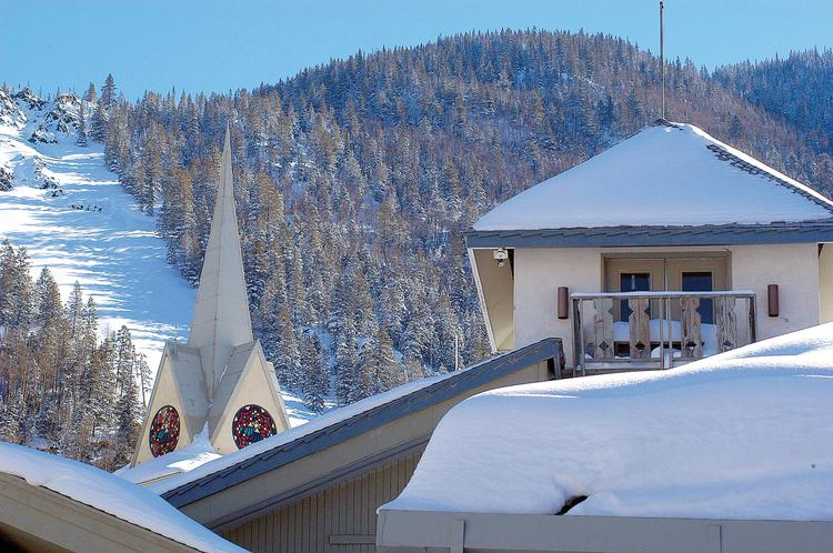 Taos, which features the Taos Ski Valley (pictured), has been ranked among the nation's top ski areas for valuable real estate investment.