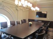 Two board rooms are included in Joe's private dining spaces.