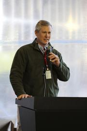 John Stephenson, president and CEO of Atlanta Hall Management, which oversees the Hall of Fame.