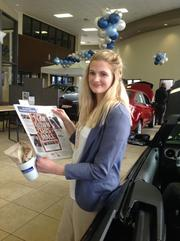 Angela Van Oss of Heiser Ford