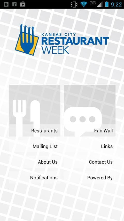 Those interested in exploring the offerings of Kansas City Restaurant Week can now turn to an app for information.