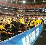 Wichita State fans taking in the Final Four experience