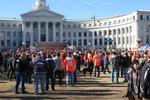 Fans cheer on Denver Broncos at downtown rally (Slideshow)