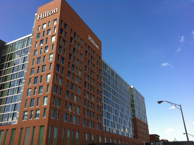 The Hilton Downtown Columbus is the latest Columbus hotel to get the AAA's Four Diamond status.