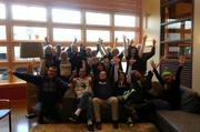 Windermere's office in Seattle's Greenwood area celebrates Blue Friday in honor of the Seahawks championship bid.