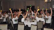 The group from Berger Singerman react to their win in the large company category.