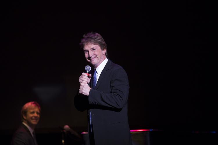 Comedian Martin Short performed in Milwaukee Saturday to help raise money for the MACC Fund.