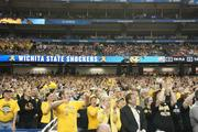 Shocker fans were out in force to cheer on the team.