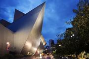Denver's coolest building -- The Denver Art Museum's Frederic C. Hamilton Building, designed by Daniel Libeskind with Denver's Davis Partnership Architect, opened in 2006 and now houses the museum's contemporary art collections. This tangle of sharp angles has also had a mixed response but, like Seattle's library, has drawn national attention.