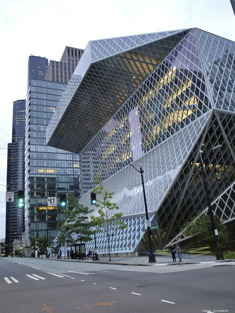 Library resources, such as Seattle's Central Library, were one of the indicators that Central Connecticut State University used in ranking the most literate cities in the U.S.
