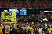 Fans showed great support for all the Shockers, including guard Ron Baker.