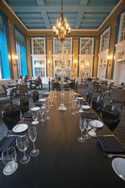 The French Kitchen restaurant is under the leadership of chef de cuisine Jordan Miller, who also serves as the hotel's executive sous chef and executive chef at the Chesapeake restaurant in Station North.