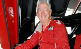 Preston Henn, a former racecar driver shown here in 2006 with his Ferrari FXX, owns Swap Shop flea market, a venue that Coach claimed had vendors selling knockoff versions of its designer purses. Henn recently settled the suit.