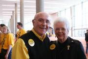Fromer first couple of WSU, Don and Shirley Beggs.