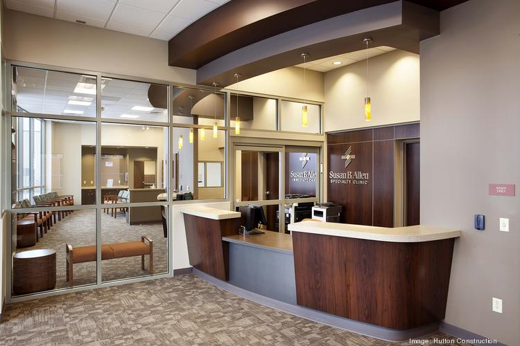 The first free-standing clinic for Susan B. Allen Memorial Hospital is set to open next week in Augusta.