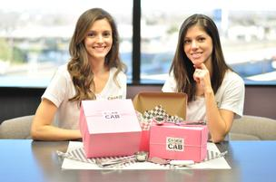 Molly Rodenberg and Lauren Pepping opened Cookie Cab, a San Antonio cookie delivery company in January 2014.
