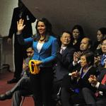 Hawaii Democrat <strong>Tulsi</strong> <strong>Gabbard</strong> meets with Trump, but is mum on job prospects