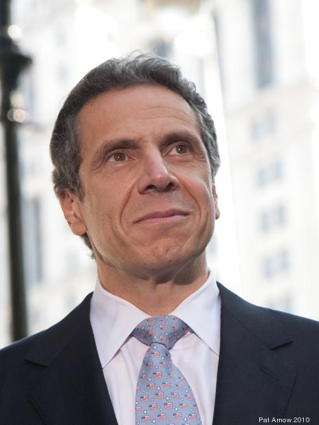 New York Governor Andrew Cuomo (pictured) is in the middle of a struggle with New York Mayor Bill de Blasio over how to fund universal pre-kindergarten.