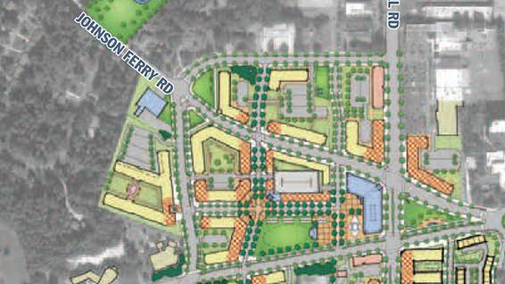 Sandy Springs, Ga., invited five development teams to compete to become master developer for a planned remake of the city's downtown. Carter and Selig Enterprises won the job.