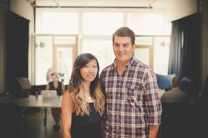 Marissa Hu, left, and Andy Fortson are the founders of Co-Ed Supply.