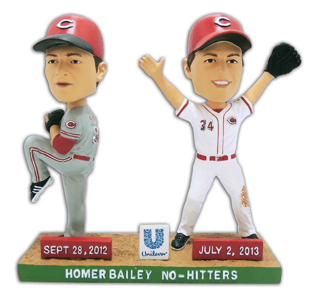 0a79181ed9 A Homer Bailey bobblehead will be given away at the May 10 game against the  Colorado