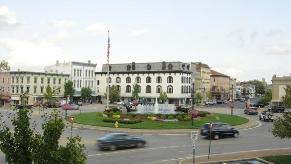 The Taste of Troy event is held annually in downtown Troy to showcase local restaurants in the picturesque town square.