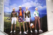 You'd be hard-pressed to find a better-dressed group of mannequins.