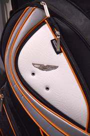 And in case you can't stand having some money left over, Aston Martin makes golf bags.