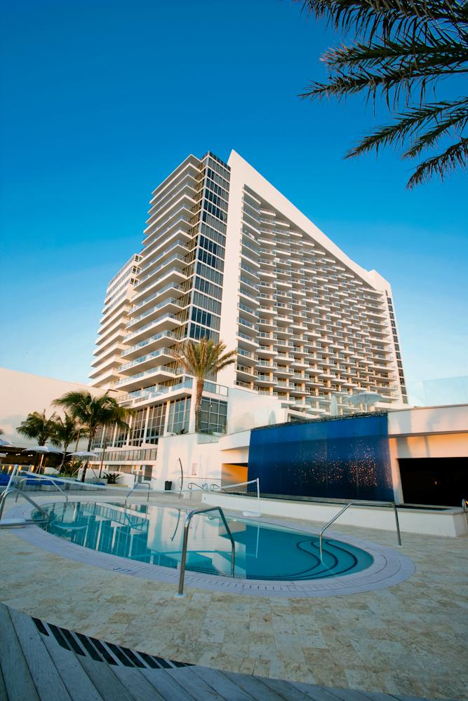 The Eden Roc Miami Beach, acquired by Destination Hotels & Resorts in 2013, features 631 rooms overlooking the beach.