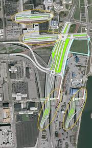 Two ramps that currently link to Lincoln Memorial would shift to the south, putting drivers into the 3rd Ward.