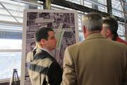 Wisconsin DOT engineers were on hand Wednesday to answer questions and collect comments.
