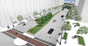 Clybourn Street is to be rebuilt as a boulevard with two-way traffic and extended to reach Discovery World's doorstep.
