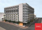 An artist's rendering of the eight-story 814 N. Charles St. project.