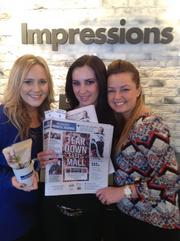 Brittney, Emma and Julia from Impressions Day Spa